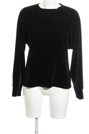 Reiss Sweatshirt schwarz Casual-Look