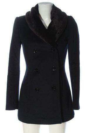 Reiss Cappotto in lana nero stile professionale