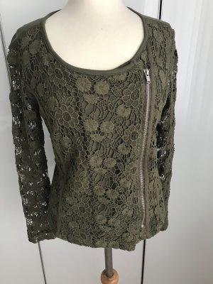 Best Connections Blouse Jacket green grey