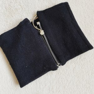 Reisverschluss Schal - Schwarz