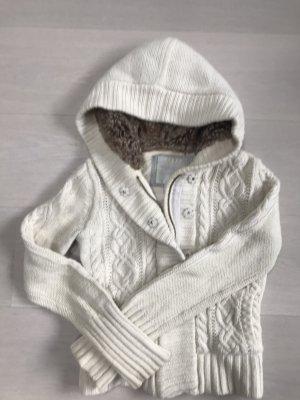 American Eagle Outfitters Veste à capuche blanc cassé