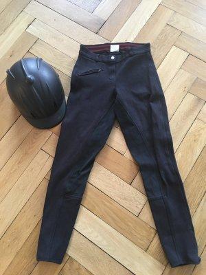 181 Pantalón de equitación negro Algodón