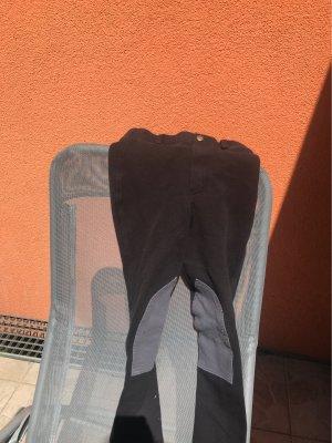 Lage taille broek zwart