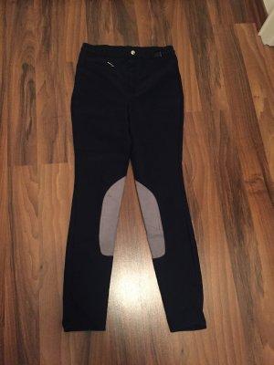 Pantalone da equitazione grigio chiaro-blu scuro