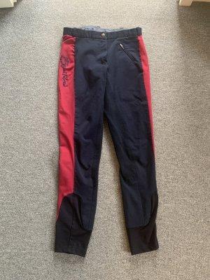 Pantalone da equitazione viola-blu scuro
