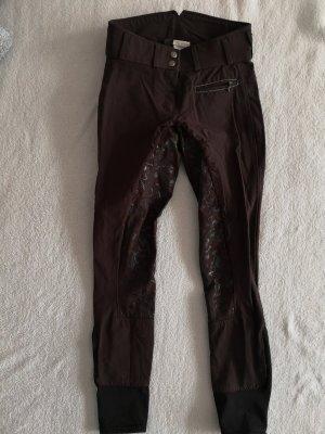 Pantalone da equitazione marrone scuro