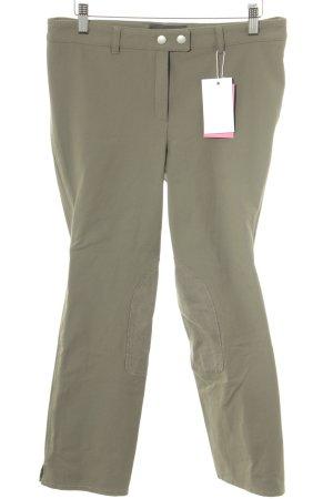 Pantalone da equitazione cachi-marrone-grigio stile atletico