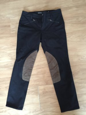 Cambio Riding Trousers black cotton