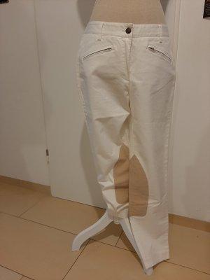 Eddie Bauer Pantalone da equitazione bianco sporco-beige