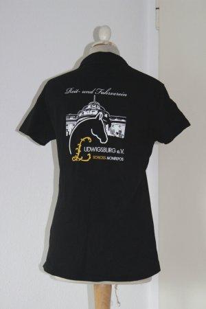 Reitershirt Polohemd Reitshirt Reitverein Ludwigsburg Monrepos S
