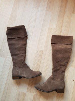 5th Avenue Botte d'équitation gris brun-marron clair