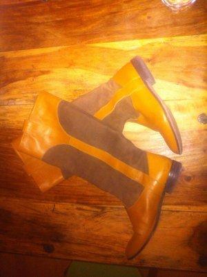 Reiterstiefel Stiefel im reiter style von Zara 39 cognac * NP 119,-€