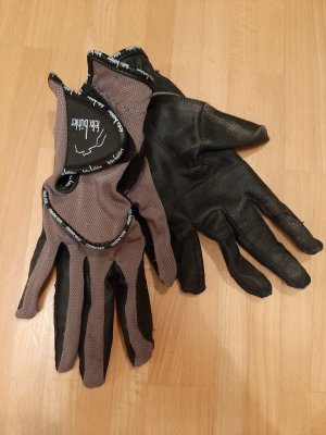 Felix Bühler Gloves black-grey brown