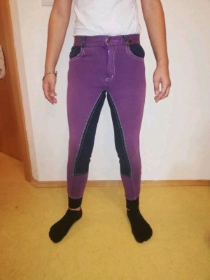 100% Fashion Riding Trousers lilac