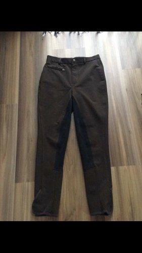 equilibre Pantalone da equitazione nero-marrone