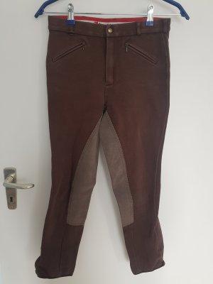 Horze Pantalón de equitación marrón claro-marrón