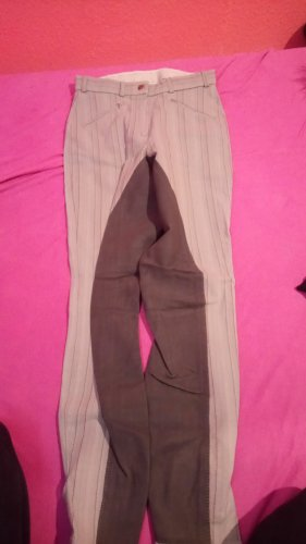 Pantalone da equitazione grigio