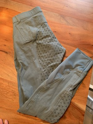 Pantalone da equitazione azzurro-blu fiordaliso