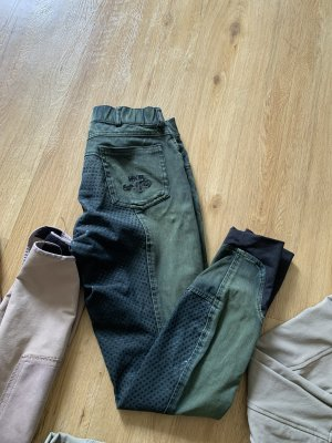 Riding Trousers green grey