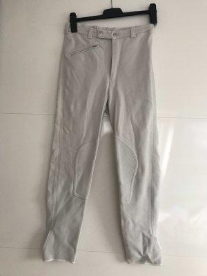 Pantalone da equitazione bianco-crema