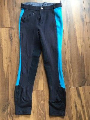 equilibre Pantalon d'équitation noir-bleu clair