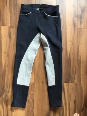 equilibre Riding Trousers dark blue-light grey