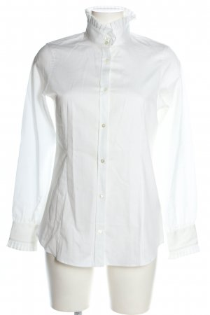 Reitmayer Stand-Up Collar Blouse white business style