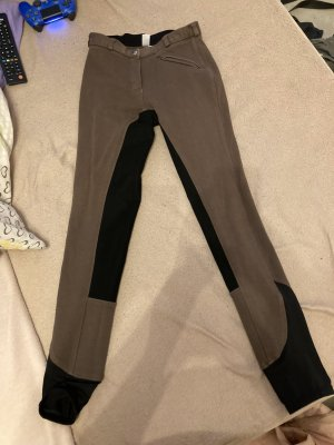 covalliero Pantalon d'équitation brun noir-noir