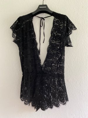 Ann Summers Négligé noir polyamide