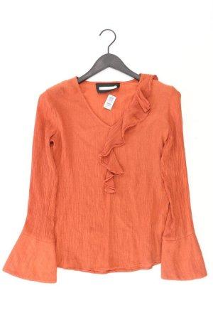 REKEN MAAR Bluse Größe 36 orange aus Viskose