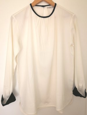 Reken Maar Long Sleeve Blouse black-natural white