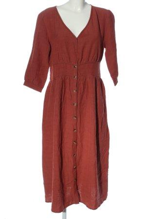 Reken Maar Abito blusa camicia rosso stile casual