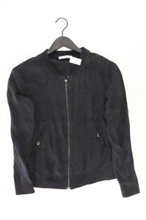 REKEN MAAR Jacke Größe 38 schwarz aus Cupro