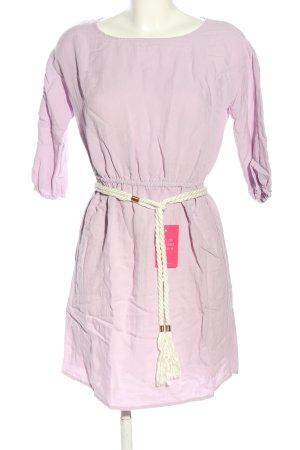 Reken Maar Abito a maniche lunghe rosa stile casual