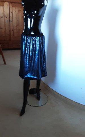 Reken Maar Jupe en taffetas bleu foncé