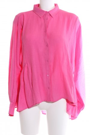 Reken Maar Oversized Bluse pink Business-Look