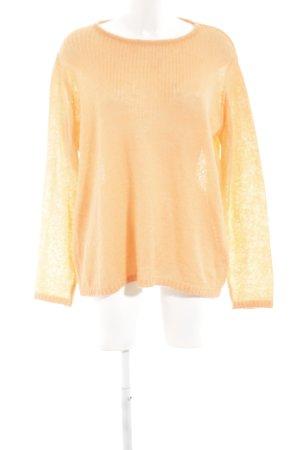 Reken Maar Maglione girocollo arancione chiaro stile casual