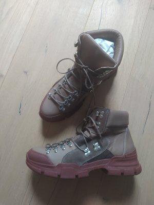 Reken Maar Schnürboots Boots Booties Trekky Winter Snow Hike Hiking