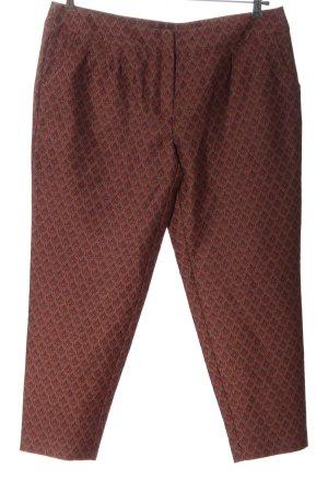 Reken Maar Pantalone jersey rosso motivo astratto stile professionale