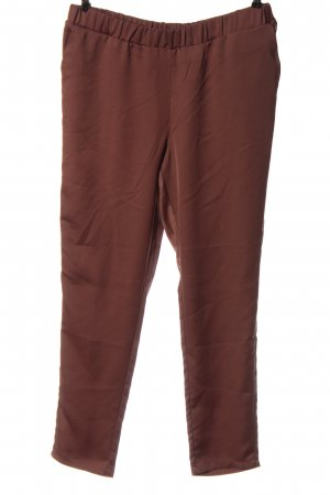 Reken Maar Pantalone jersey marrone stile casual