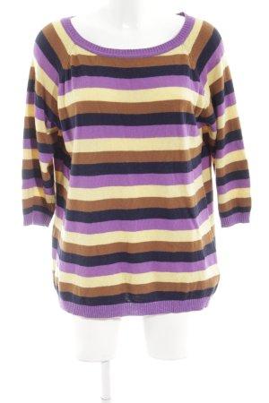 Reken Maar Maglione di lana motivo a righe stile casual