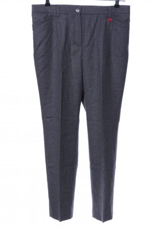 Relaxed by TONI Stoffhose hellgrau meliert Casual-Look