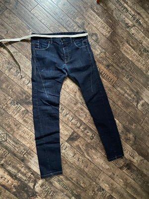 Religion Jeansy o obcisłym kroju niebieski-ciemnoniebieski
