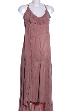 Religion Robe longue rose style décontracté