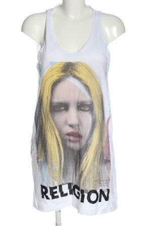Religion Robe t-shirt imprimé avec thème style décontracté