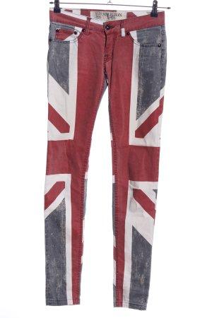Religion Jeans skinny imprimé avec thème style décontracté