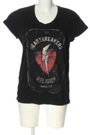 Religion T-shirt imprimé avec thème style décontracté