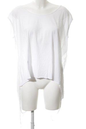 Religion T-shirt blanc style décontracté