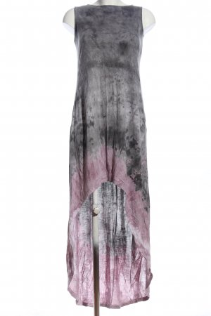 Religion High Low Dress light grey-pink abstract pattern casual look