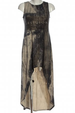 Religion High Low Dress abstract pattern casual look